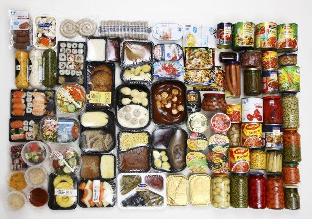 Redução de tamanho de alimentos em processados